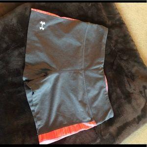 Under Armor biker spandex shorts